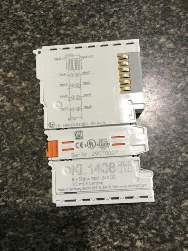 Beckhoff KL1408 8x Digital Input 24VDC 0.5A