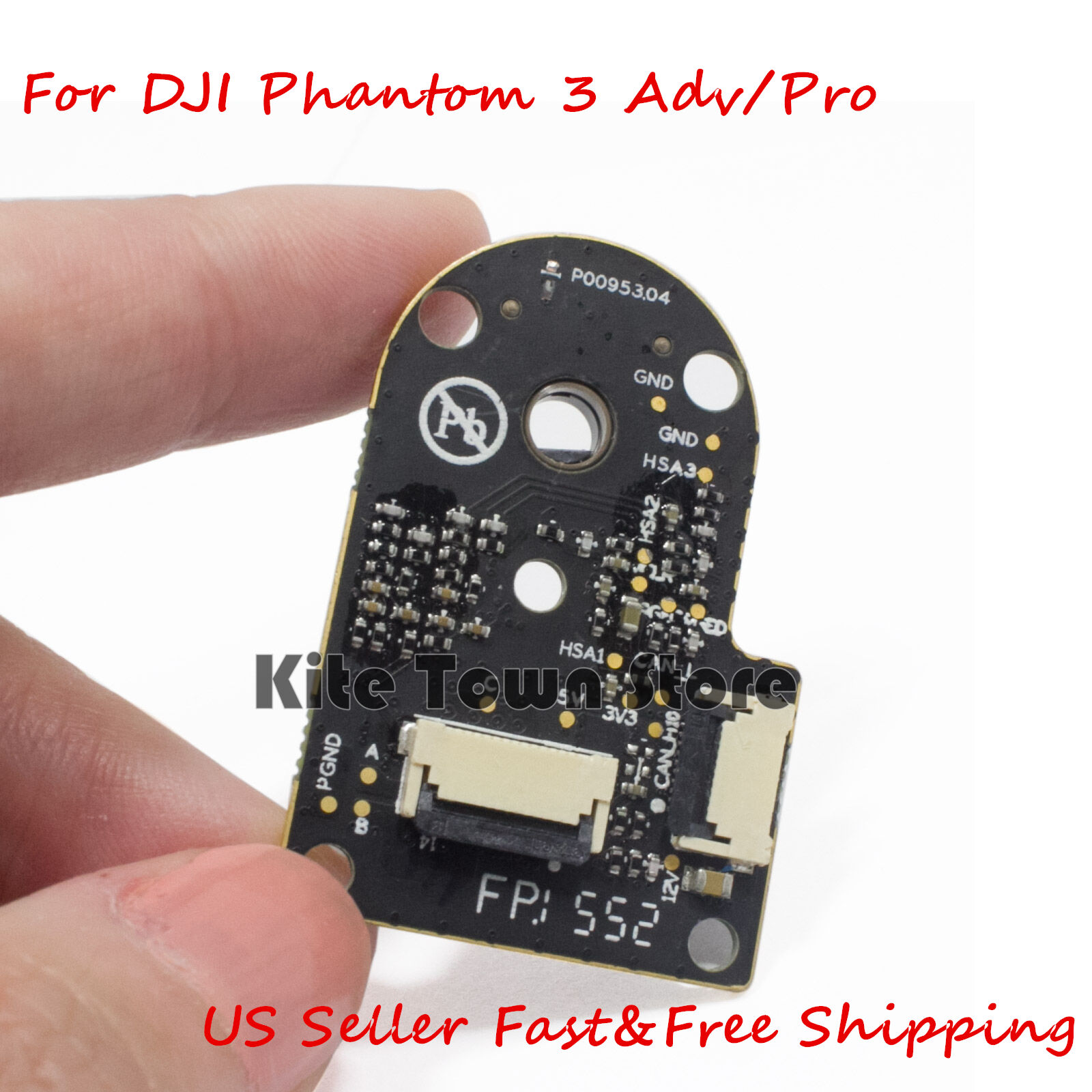 Roll Motor Esc Chip Circuit Board For Dji Phantom 3 Standard Ebay Replacement Repair Part R C Helicopter Radio Control Norton Secured Powered By Verisign