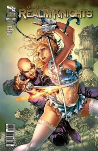 or better! NM Grimm Fairy Tales Realm Knights One Shot Cover C
