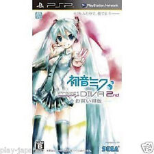 Used PSP Hatsune Miku Project Diva 2nd Best Japan import game