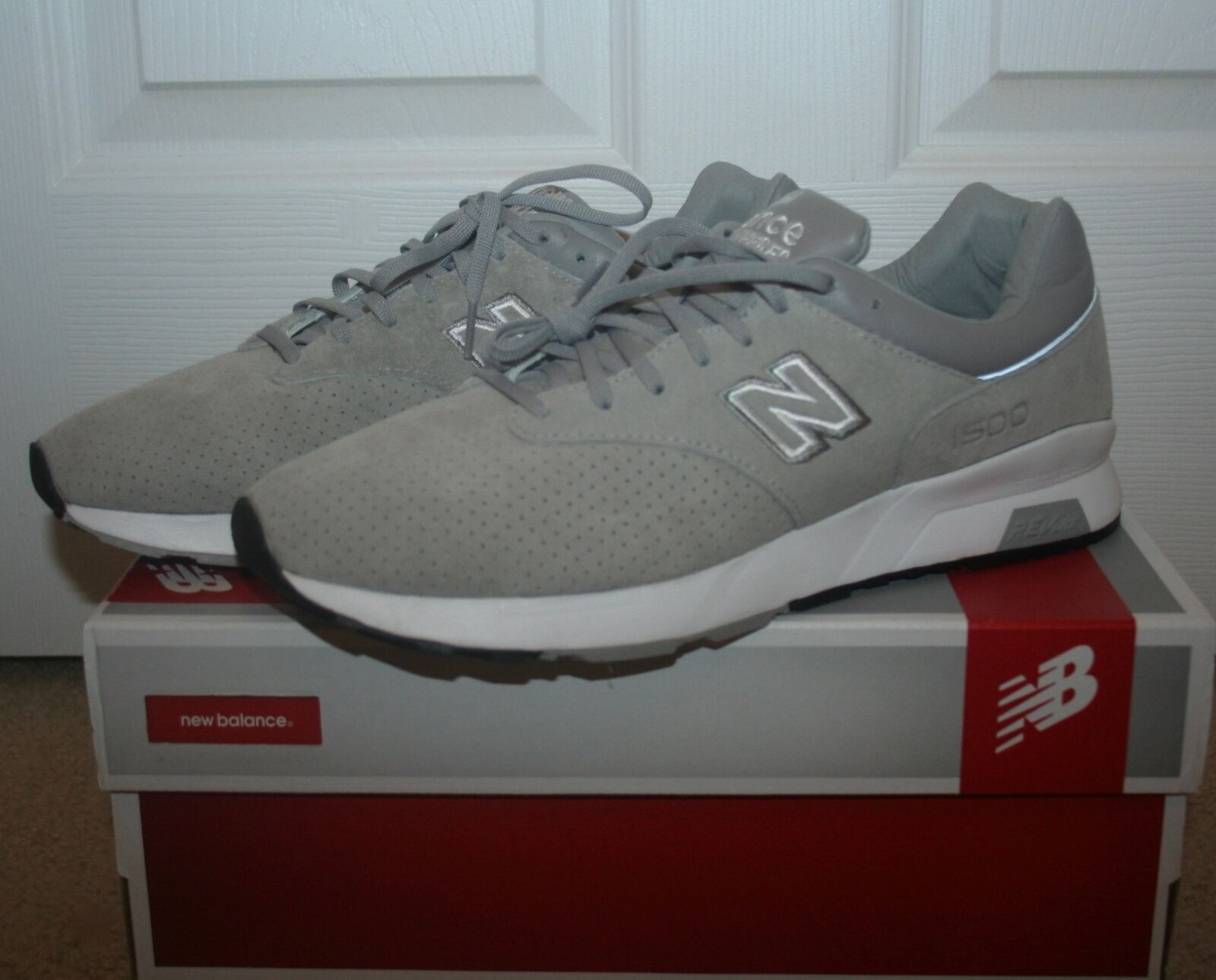 JCREW NEW BALANCE 1500 RE-ENGINEERED SNEAKERS SIZE 8,5M GREY E8593