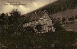 LAUTENTHAL-Harz-Niedersachsen-1910-Pension-u-Restaurant-Zum-Bischofsthal-AK