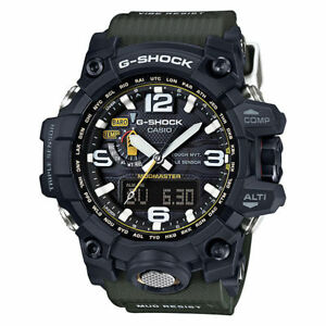 Casio G-SHOCK MASTER OF G MUDMASTER TOUGH SOLAR GWG-1000-1A3 - Black and Green