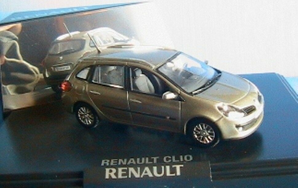 RENAULT CLIO 3 ESTATE 2008 BEIGE CENDRE NOREV 77 11 425 964 1 43 NEW 5 PORTES