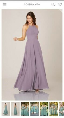 Bridesmaid Dress- Sorella Vita Dusty Lavender colo