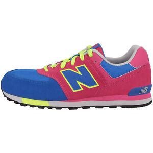 NEW Balance Kl 574 Wag Scarpe Blue REALLY RED kl574wag Sneaker ML KD UL WL 373