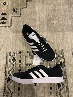 adidas VL Court 2.0 Skate Shoes Men's Size 10.5 Black/ White DA9853   eBay