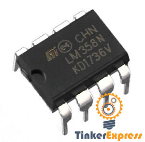 20pc-LM358-LM358N-LM358P-Dual-OpAmp-DIP-8-Low-Power-Operation-Amplifier-USA