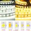 5M LED Flexible Strip Light 3528 2835 3014 5050 5630 5054 RGB Warm White DC 12V
