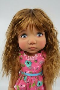 """Monique Infant  Doll Wig Size 11-12/"""" in Auburn New in Box"""