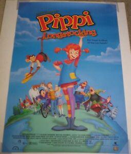 Checking Out Pippi Longstocking From >> Pippi Longstocking Movie Poster 1 Sided Original 27x40 Ebay