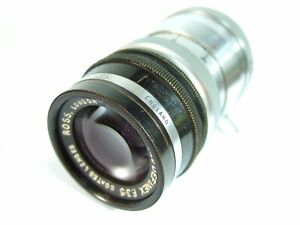 Rare-ROSS-DEFINEX-3-5-034-Inch-90mm-LEICA-LTM-39mm-LENS-RFC-Coupled-Not-Mint