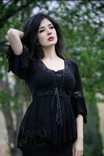 96191531e2a item 3 RENAISSANCE Gothic Victorian BLACK Boho Corset Top Size 1X -MSRP  60  -RENAISSANCE Gothic Victorian BLACK Boho Corset Top Size 1X -MSRP  60