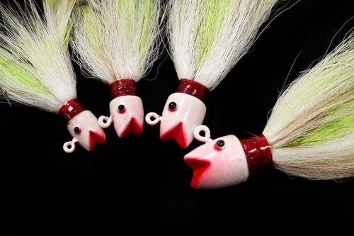 Jigging World OMF Bucktail Jig FREE SHIPPING in the US
