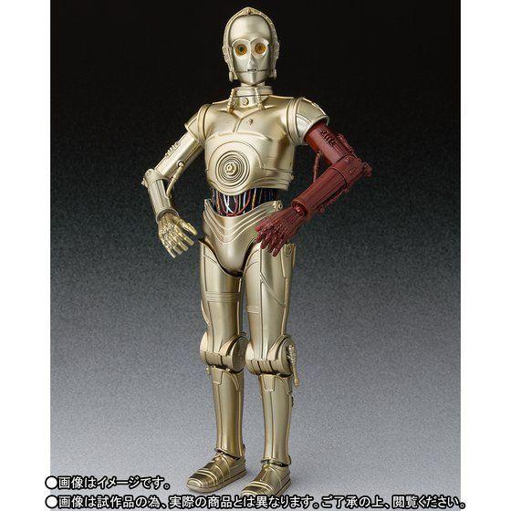 Bandai S.H. Figuarts Star Wars C-3PO  la forza si sveglia  Giappone Versione