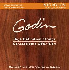 Godin Nylon cuerdas para/cuerdas for Godin Multiac y clásico Guitarras NTC
