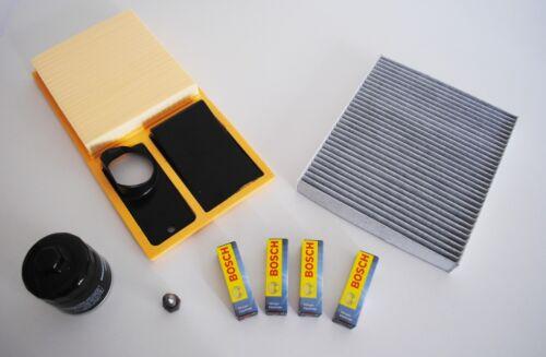 Paquete de inspección inspektionskit Filterset seat ibiza 6j 1,4 63kw 85ps bxw cggb