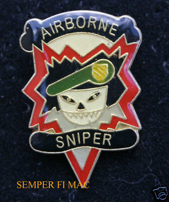 Mac Sog Airborne Sniper Hat Pin Military Assistance Command Mac V Vietnam Vet Ebay