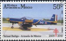 AERMACCHI VALMET RediGO Navy Aircraft Stamp (100 Years of Aviation in Mexico)