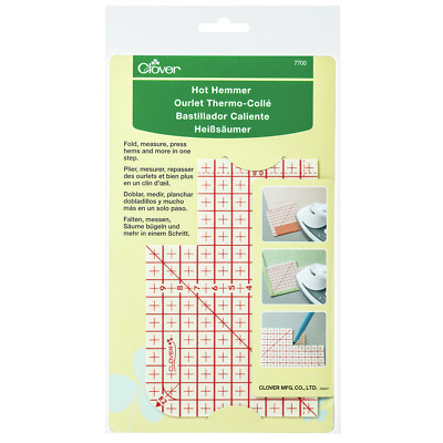 Clover Fusible Web Tape-10mmx40/' Tape10mmx40 Bias Maker Sewing Notions Select