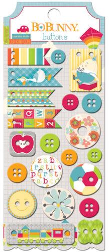 Bo Bunny TOY BOX Collection Buttons BoBunny  2016