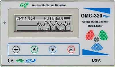 STRAHLENMESSGERÄT Geigerzähler Kernstrahlung METER DETECTOR Radioaktivitäts