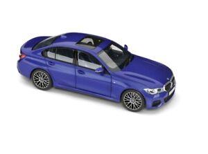 Original BMW Miniature 3er G20 Limousine Blue New 1:18 Collector/'s Model
