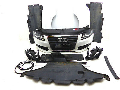 Audi A4 8K B8 1.8TFSI Kühler Front Paket Stoßstange Motorhaube Kotflügel Xenon