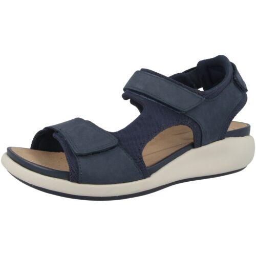 Clarks Un Bali Trek Women Damen Sandale Freizeit Hiking Leder Sandalette 2614969