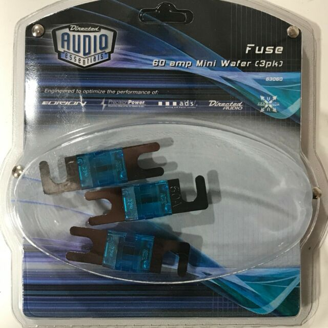 10 PACK NEW FOR ANY MINI FUSE HOLDER 60 AMP MINI MIDI ANL FUSE