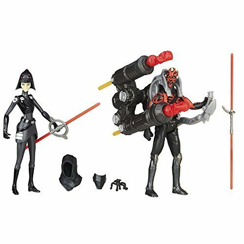 Star Wars Rebels Seventh Sister Inquisitor VS. Darth Maul Action Figures 3.75 In