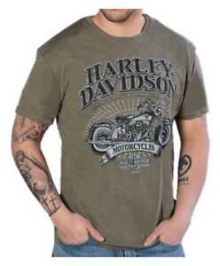 Harley-Davidson-Men-039-s-Superior-Performance-Short-Sleeve-T-Shirt-Fatigue-Blend