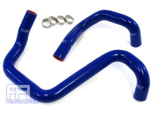 HPS Silicone Radiator Hose Kit Wrangler JK Unlimited 3.6L Pentastar 12-14 Blue