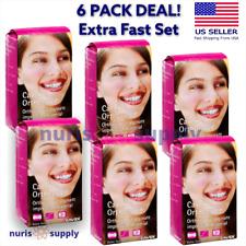 6 Pack Cavex Extra Fast Set Orthotrace Alginate Impression Material Pink Fruit
