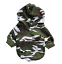 L FOR SMALL DOGS Camo Dog Hoodie Hooded Pet Clothes Small Shirt Sweater XS
