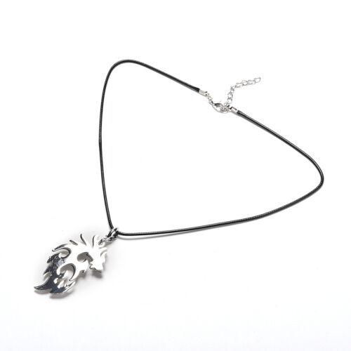 1pc Dragon forme Colliers /& Pendentifs pour hommes mode bijoux en argent Collier