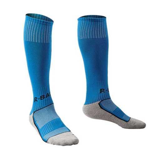 R-BAO Cotton Sports Children Boys Kids Soccer Football High Long Socks Bottom