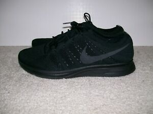 the latest 7dcbf 5ca0c Details about SZ 13 Mens Nike FLYKNIT TRAINER Black Anthracite AH8396-004  Huarache Vapormax 1