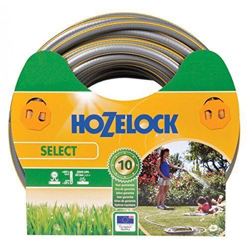 - garden hoses Hozelock 25m Select Ø15 mm Hose only, Grey, Yellow