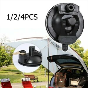 Black Tie Down Suction Cup Anchor For Camping Tent Tarp/Car/Truck