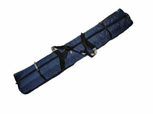 FULLY PADDED DOUBLE SKI BAG W WHEELS - 170cm - bluee
