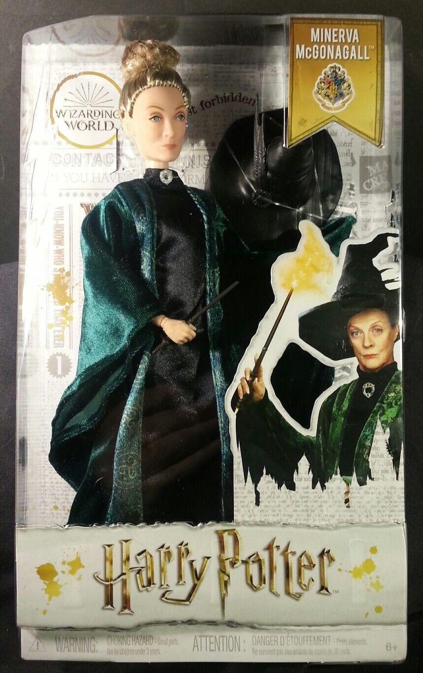 Harry krukmakare Minerva McGonagall -formbar figur Factory förseglade 2 -3 -dagars prioritet