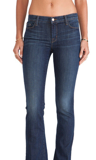 J BRAND Womens Martini 1197C032 Jeans Relaxed Marocco bluee Size 27
