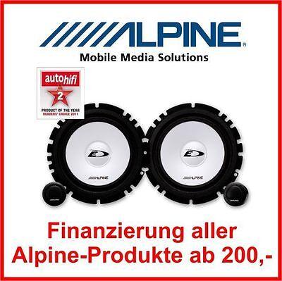 Alpine SXE-1750S  16,5cm 16cm 2-Wege Komponenten System auch VW Opel Skoda Seat