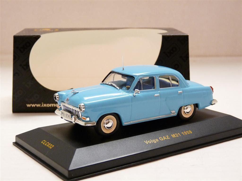 IXO CLC032 21 M21 1 43 1959 GAZ Volga Wolga Diecast Modelo de Coche
