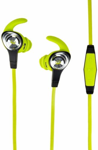 1 of 1 - Monster iSport Intensity In-Ear Fitness Wired Headphones Green