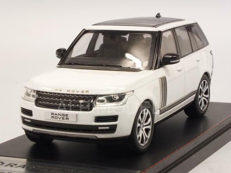 Range rover SV 2017 White 1 43 LCD Models 43001wh