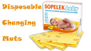 DISPOSABLE-BABY-CHANGING-MAT-UNDERPAD-BED-PROTECTION-TRAVEL-CHANGING-MAT-50x30cm