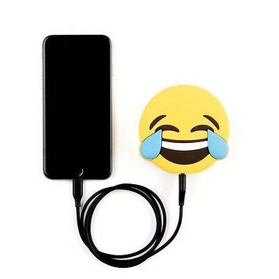 Laughing Face Emoji Power Bank 2000mAh - High Quality Portable Travel Charger