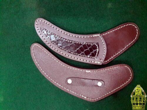 Custom Handmade Damascus Buffalo Horn karambit Pair